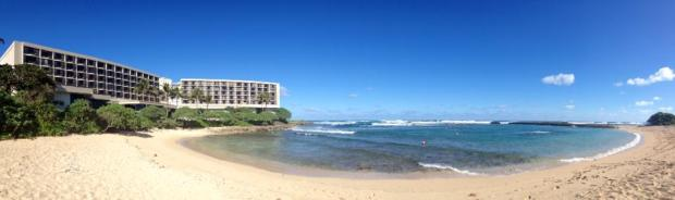 The beautiful Turtle Bay Resort